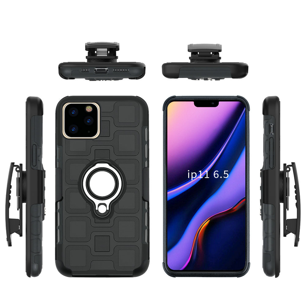 Belt Clip Holster Etui for Coque iPhone 11 Max 11Pro 2019 Case iPhone11 Ring Holder for iPhone 11 Case iPhone 11 Pro Max Cover|  - title=