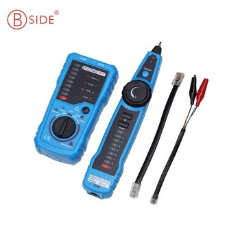 Bside RJ45 Tester Anti Interference LAN Tester Telephone Wire Network Tracker  FWT11 Cable Tester Detector Line Finder|Networking Tools|   -