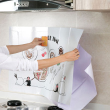 Multifunctional Cozy Kitchen Stickers Wall Decals Cabinet Stove Waterproof Kitchen Sticker Home Decoration Mural Cute Wallpaper