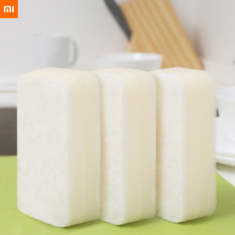 Xiaomi Youpin QuanGe 3-layer Sponge Brush Household Cleaning Tool Three-layer Composite Dishwashing Brush Do Not Hurt Your Hand