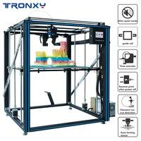 2020 tronxy X5SA-500 pro atualizado 3d impressora fdm guia linear trilho de alta precisão grande tamanho ultra-silencioso auto nivelamento mais novo