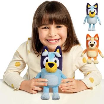 2021 Bluey Kids miękkie na prezent dla dzieci śliczne pluszowe zabawki piesek Pupets Doll miękkie Cuty wypchana zabawka 8 Cal Bluey pluszowe zabawki dla dzieci tanie i dobre opinie CN (pochodzenie) 20201112 1 plush doll dropshipping