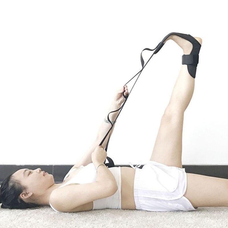 Yoga Ligament Stretching Belt Foot Drop Stroke Hemiplegia Rehabilitation Strap Leg Training Foot Ankle Joint Correction Braces