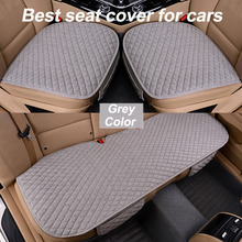 Universal good Car Seat Cover Cushion Front Rear Backseat Seat Cover Auto Chair Seat Protector Mat Pad Interior Accessories universal auto car seat cover auto front rear chair covers seat cushion protector car interior accessories 3 colors