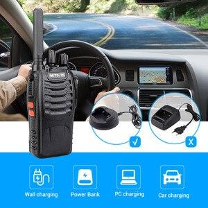 Image 3 - Walkie Talkie 4 stücke Retevis H777 Plus PMR446 Walkie Talkies PMR Radio FRS H777 Handliche Zwei Weg Radio station USB Lade Für Hotel