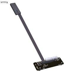 M.2 ключ M NVMe внешняя подставка для видеокарты с кабелем PCIe3.0 x4 25 см 50 см 32Gbs для ITX STX NUC VEGA64 GTX1080ti
