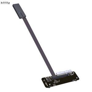 M.2 klucz M NVMe zewnętrzna karta graficzna wspornik stojakowy z PCIe3.0 x4 kabel Riser 25cm 50cm 32 gb dla ITX STX NUC VEGA64 GTX1080ti