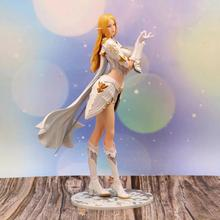 1/7 scale painted PVC Action Figure Toys Model Collectibles Anime Figure 26CM Lineage heaven 2 Elf Female mage card captor kinomoto sakura 1 7 scale painted figure 15th anniversary sakura doll pvc action figure collectible toy 26cm kt3366