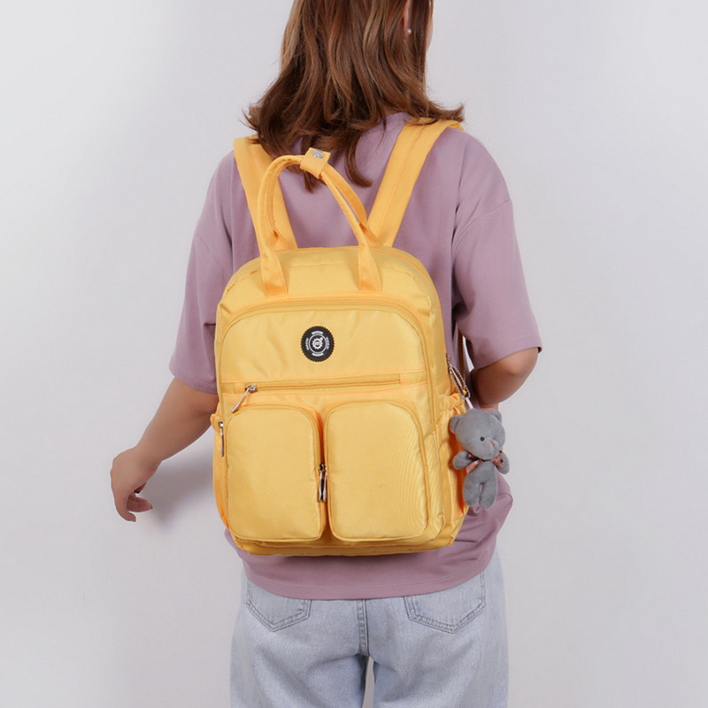 H9b455024835e481bab371041813a0096J - New Waterproof Nylon Backpack for Women Multi Pocket Travel Backpacks Female School Bag for Teenage Girls Dropshipping