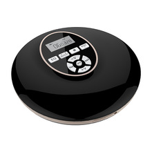 Portable CD Player with Bluetooth Walkman Player with LCD Display Audio 3.5mm Jack for Gift(Black)
