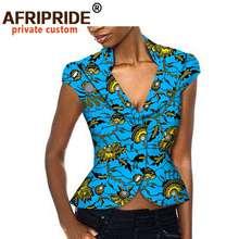 Африканская одежда для женщин куртка с принтом Анкары модный