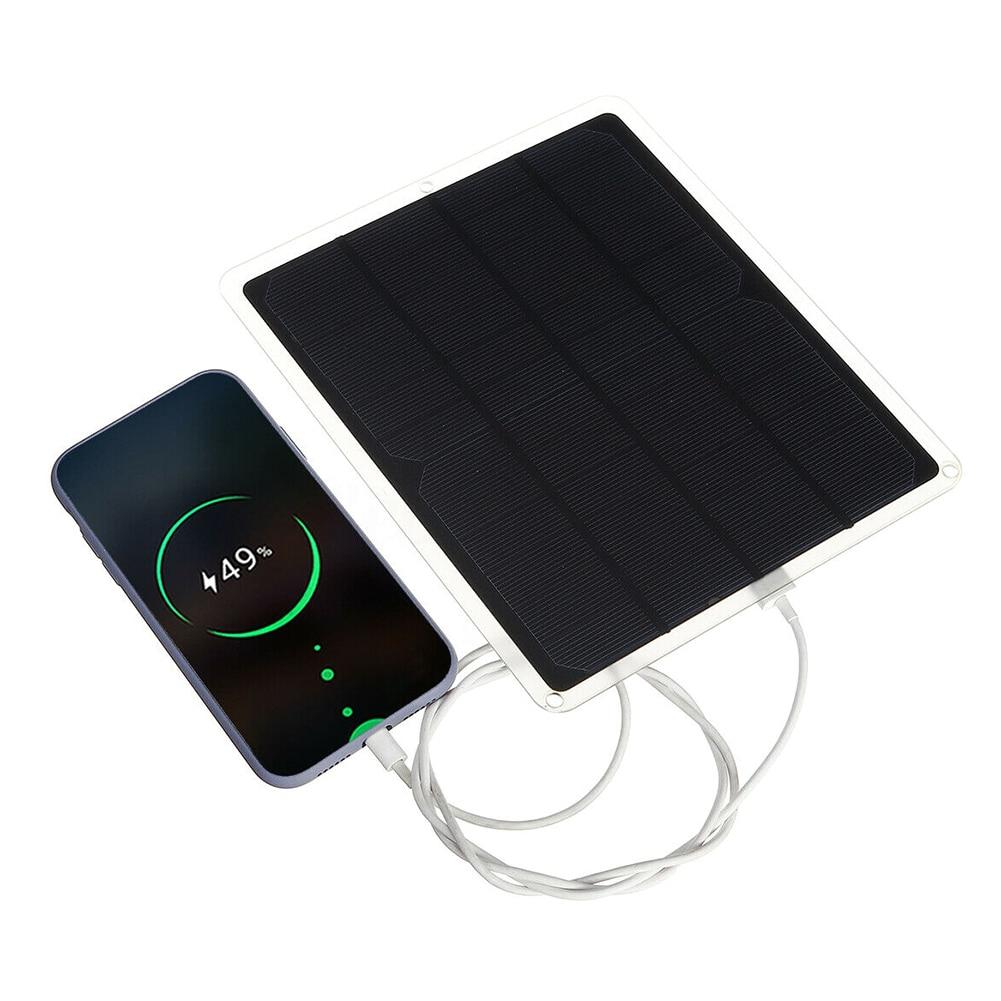Nova 20W 12V USB Painel Solar com