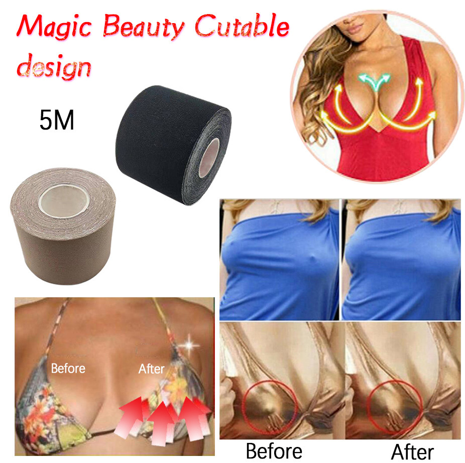 Breast Lifting Tape Tit Boob Clear Adhesive Push Up Lift Enhancing Pasties Patch