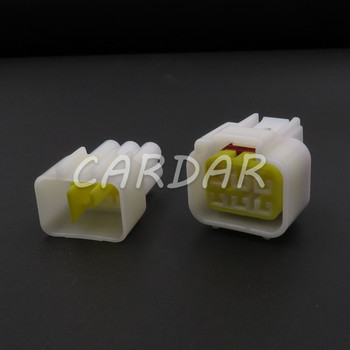 1 Set FW-C-6M-B FW-C-6F-B 6 Pin Waterproof Electrical Wire Connector Door Glass Lifter Wiring Socket For Cars image