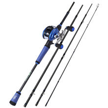 Удочка рыболовная sougayilang 4 секции 18 24 м 17 + 1 шарикоподшипник