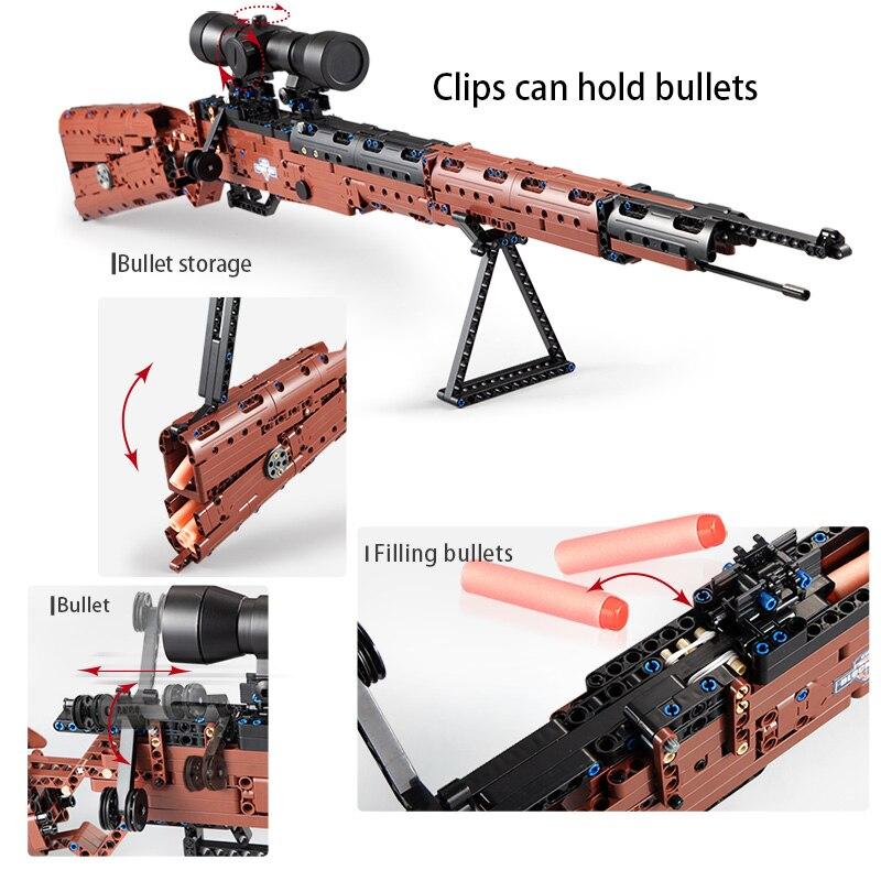 para legoingly pistola arma blocos brinquedos 03