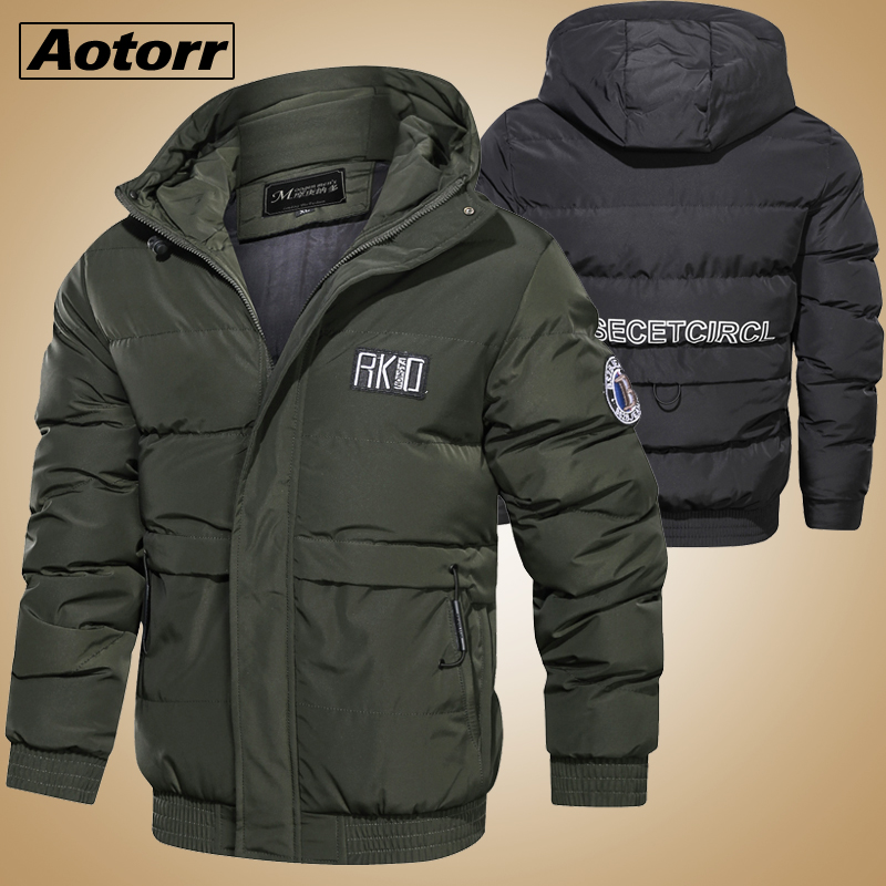 Winter parkas Men -20 Degree Thick Warm jacket Hooded Coat windproof Male Jackets Outwear Jaqueta Masculina Father's Gift Parka