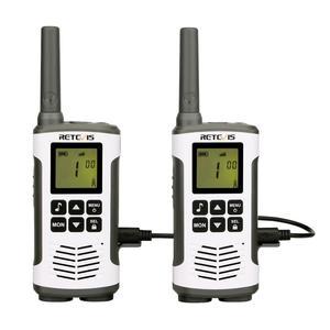 Image 1 - Retevis RT45 2個ポータブルトランシーバー0.5ワットpmr PMR446 frs vox便利な双方向ラジオ緊急家庭モトローラtlkr T50