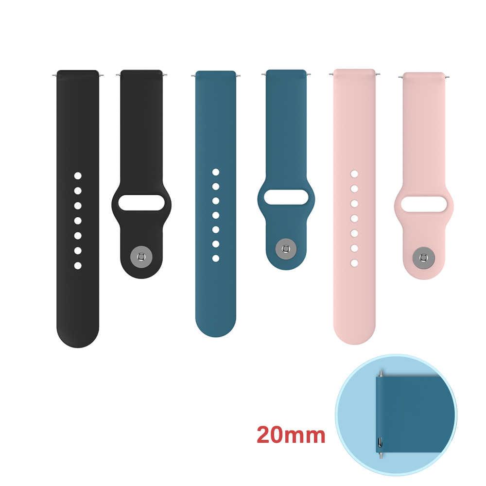 KOSPET Sport Smartwatch bande 20mm Bracelet de mode Bracelet en Silicone souple pour KOSPET KW37 PRO TICWRIS GTS Smartwatch 2020