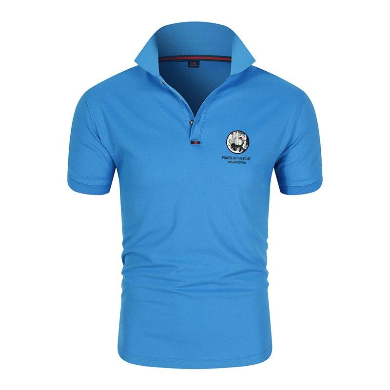 2020 винтажный Американский темно синий топ рубашка поло мужская одежда брендовая летняя вышивка короткий рукав военный ВВС один топ армейский пистолет|Поло|   | АлиЭкспресс