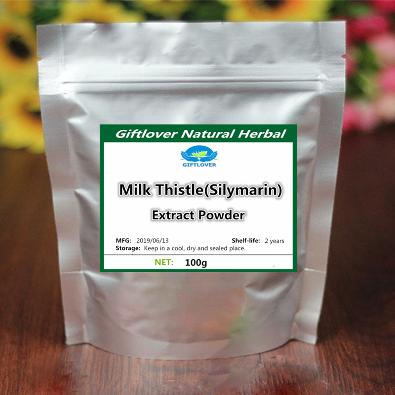 Best Liver Hepatitis Treatment Milk Thistle Extract Powder For Cure Hepatitis Protect Liver And Gallbladder,Strong Antioxidant