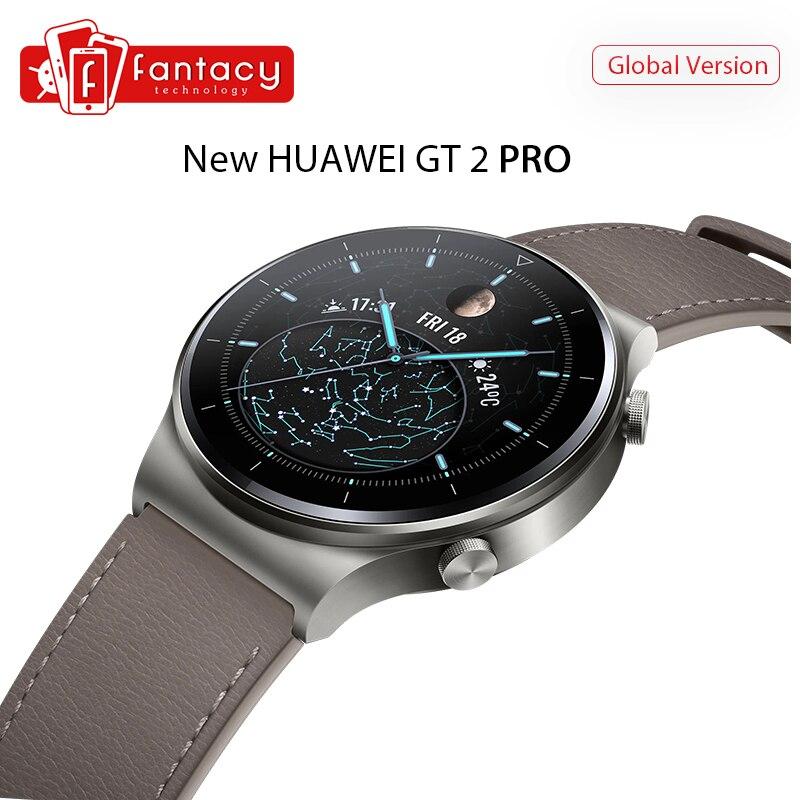 Version mondiale Huawei montre GT 2 PRO montre intelligente GPS 14 jours d