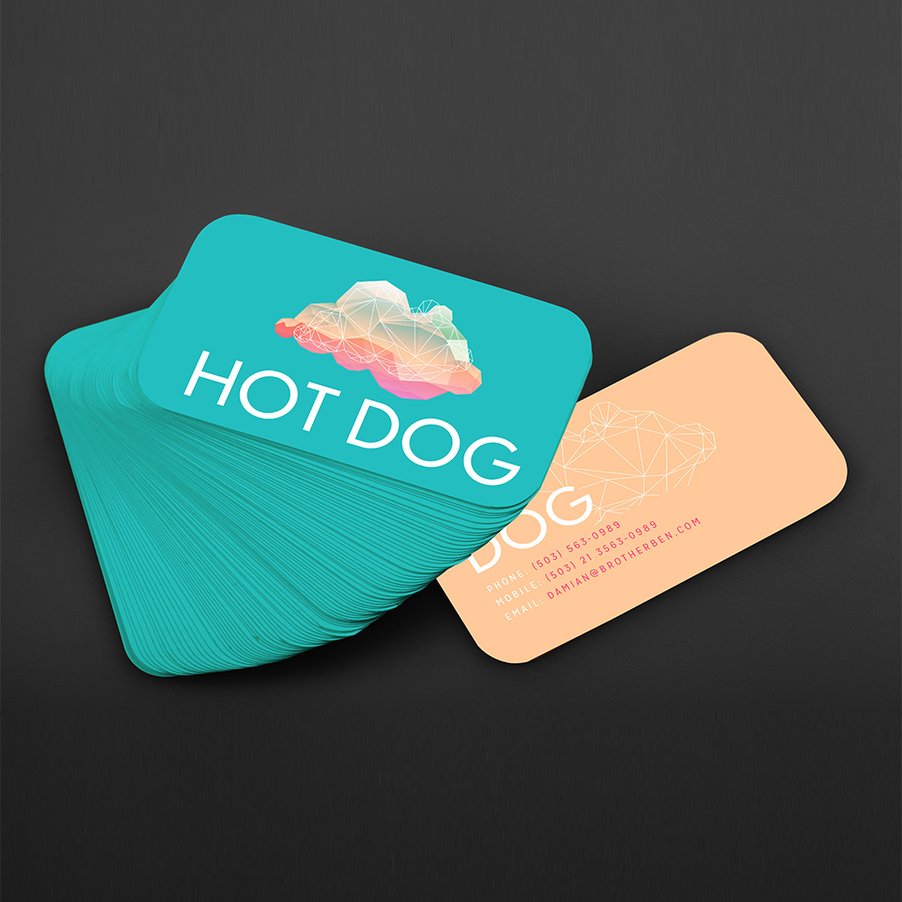 500PCS Free Shipping Free Design Custom 300gms Logo Printing Of Business Card, Double-sided And Full-color Printing