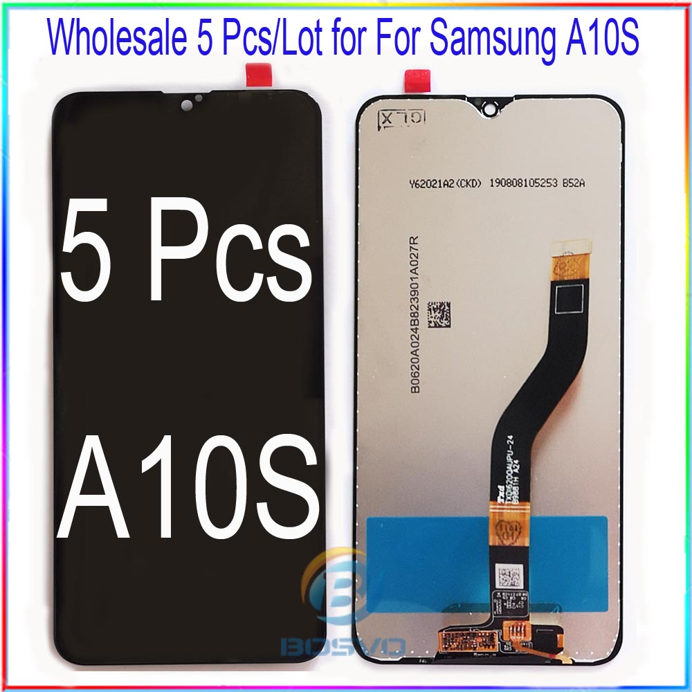Wholesale 5 pcs/lot for <font><b>Samsung</b></font> <font><b>A10S</b></font> <font><b>LCD</b></font> <font><b>screen</b></font> display A107F A107F/DS with touch assembly image