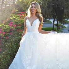 Винтажное свадебное платье в стиле бохо кружевное невесты с
