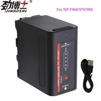 1X NP-F970 NP-F960 NP-F980 NP F980 NP F970 NP F960 Batterien mit Led-betriebsanzeige für SONY HVR-HD1000 HVR-HD1000E HVR-V1J