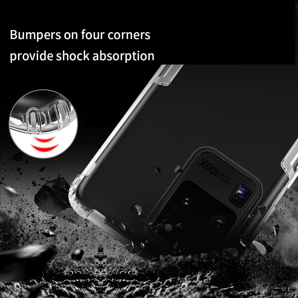 Samsung Galaxy S20 Ultra NILLKIN Təbiət TPU üçün şəffaf - Cib telefonu aksesuarları və hissələri - Fotoqrafiya 6