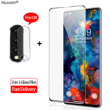2-in-1 Camera Len Glass Film Honor 20 Pro Honor10i Screen Protector Protective Glass Honor 20 Lite Tempered Glass Honor 10i 10 i 2 in 1 camera len glass film honor 20 pro screen protector protective glass honor20 pro tempered glass honor20 honor 20 pro