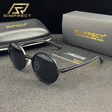 SIMPRECT Aluminium Magnesium Polarized Sunglasses Men 2020 UV400 Anti-glare