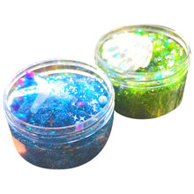 Exquisite Ocean Series Slime Anti Stress Kids Clay Crystal Mud Toys Fluffy Slime Supplies Soft Slime Charms #B(China)
