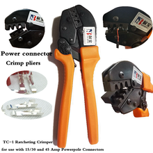 Crimping Pliers Electrical Tools AMP-15 for power pole powerpole Connectors Crimp AMP 15/30/45 for low voltage connections