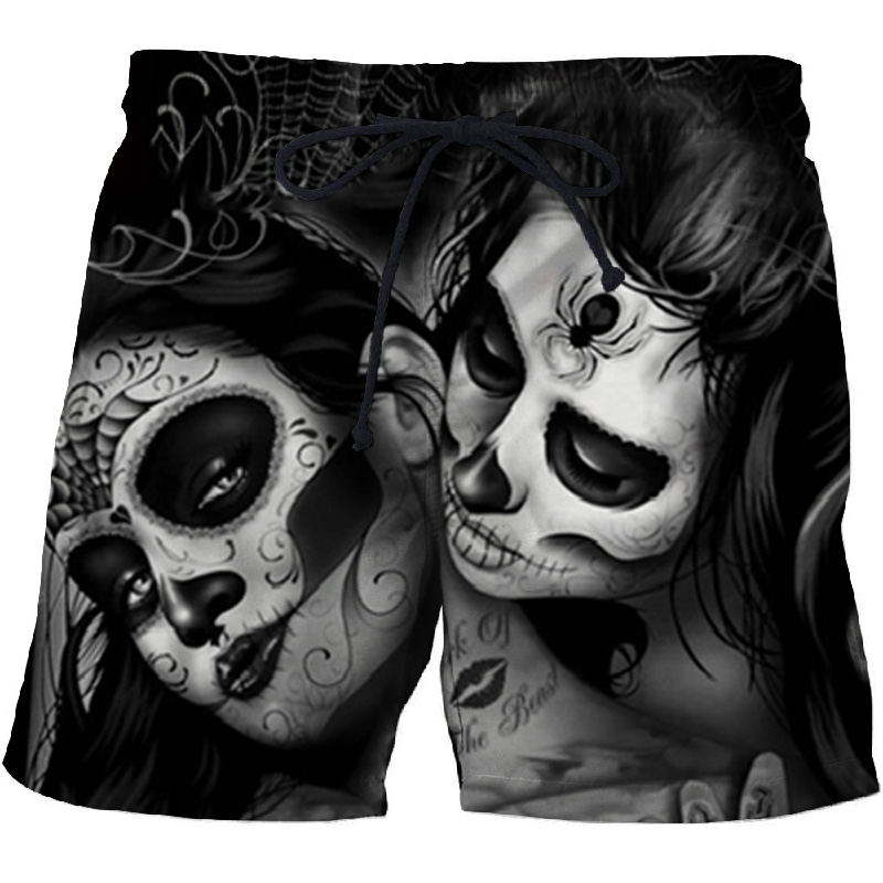 Casual Printed Beach   Shorts   Masculino Men 3d Streetwear   Board     Shorts   Plage Quick Dry   Shorts   Funny Swimwear DropShip