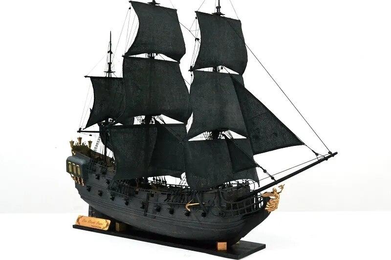 ZHL le noir perle doré version 2019 bois modèle bateau kit 31 pouces - 3