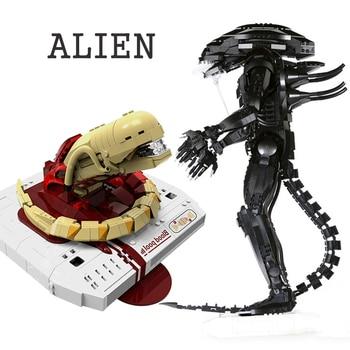 The Technic XingBao New 04001/02 Genuine Creative Movie Series The Alien Robot Set children Building Blocks Bricks Toys Figure