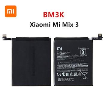 Xiao mi 100% Orginal BM3K 3200mAh battery For Xiaomi Mi Mix 3 Mix3 BM3K High Quality Phone Replacement Batteries high quality for xiao mi bm51 battery 5400mah in stock