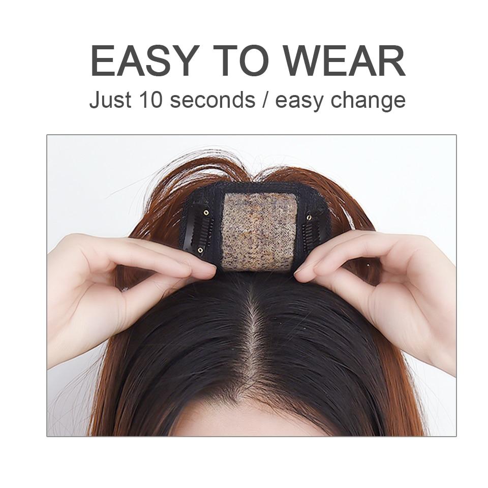 Купить парик huaya на половину головы для женщин невидимый парик волос