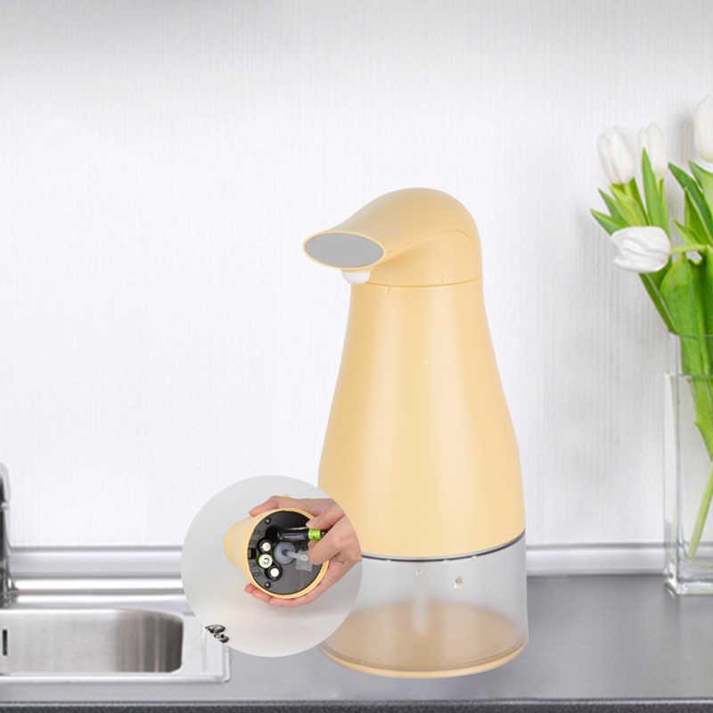 Automatyczny dozownik mydła w podczerwieni bezdotykowy automatyczny dozownik mydła wymienne mydło do kuchni w łazience