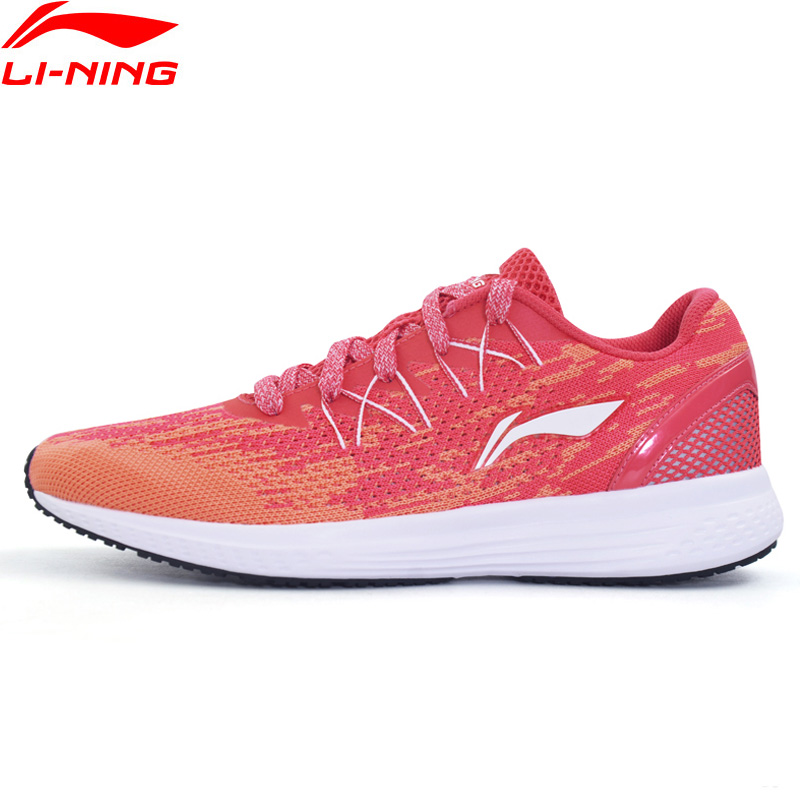 Li-Ning Women SPEED STAR Cushion Running Shoes Breathable Sneakers Textile LiNing li ning Sport Shoes ARHM082 XYP472 1