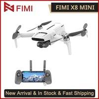 FIMI X8 Mini Drone con cámara 4K Helicóptero De Control Remoto 8KM FPV 3 ejes Drone cardán GPS RC Drone Quadcopter 250g-class Mini Drone