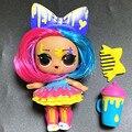 L.O.L. Сюрприз на выбор, 1 шт., серия 5 hairgoal, меняющий цвет, 8 см, куклы с волосами сестры, брызги, набор LOL, детская игра, подарок