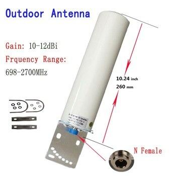ZQTMAX 12DBi Omni наружная антенна для 2G 3g 4G 700 800 900 1800 1900 2100 2600 GSM ретранслятор сотовой мобильный Интернет