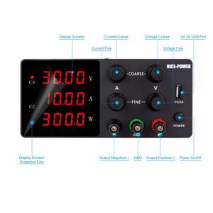 Image 3 - Regulated DC Laboratory Power Supply Adjustable 30V 10A 60V Lab Voltage Regulator 220 V Stabilizer Switching Bench Source 30 V
