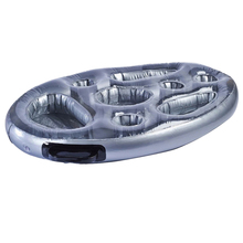 1Pc Inflatable Floating Drink Holder Hot Tub Floating Tray PVC Fruit Storage Tray