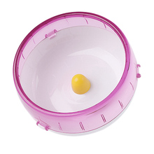 Hamster Running Disc Toy  Silent Rotatory Jogging Wheel Pet Sports Wheel Toys DFDS889