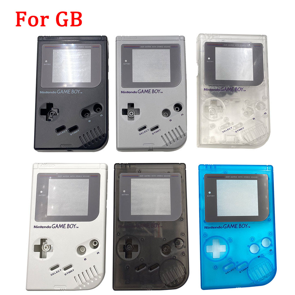 High Quality New Shell Case For Gameboy GB DMG Classic Game Console Shell for Gameboy GB With Buttons and Conductive pads