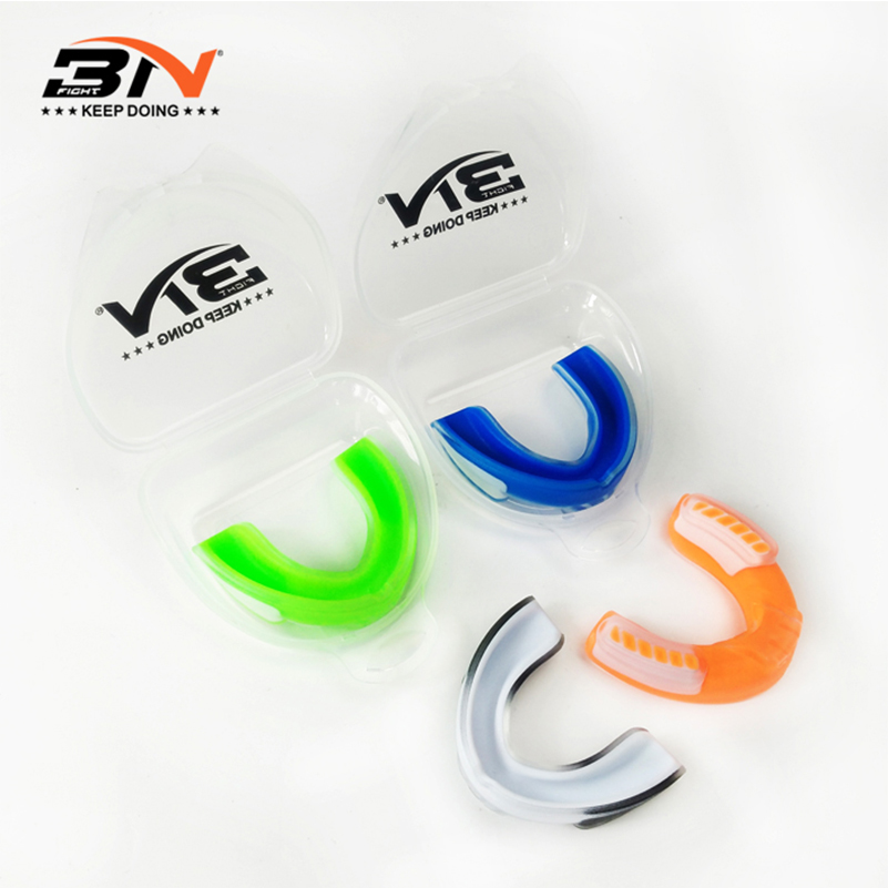 Adult Mouth Guard Gum Shield Teeth Protect For Boxing Sports Basketball Orange